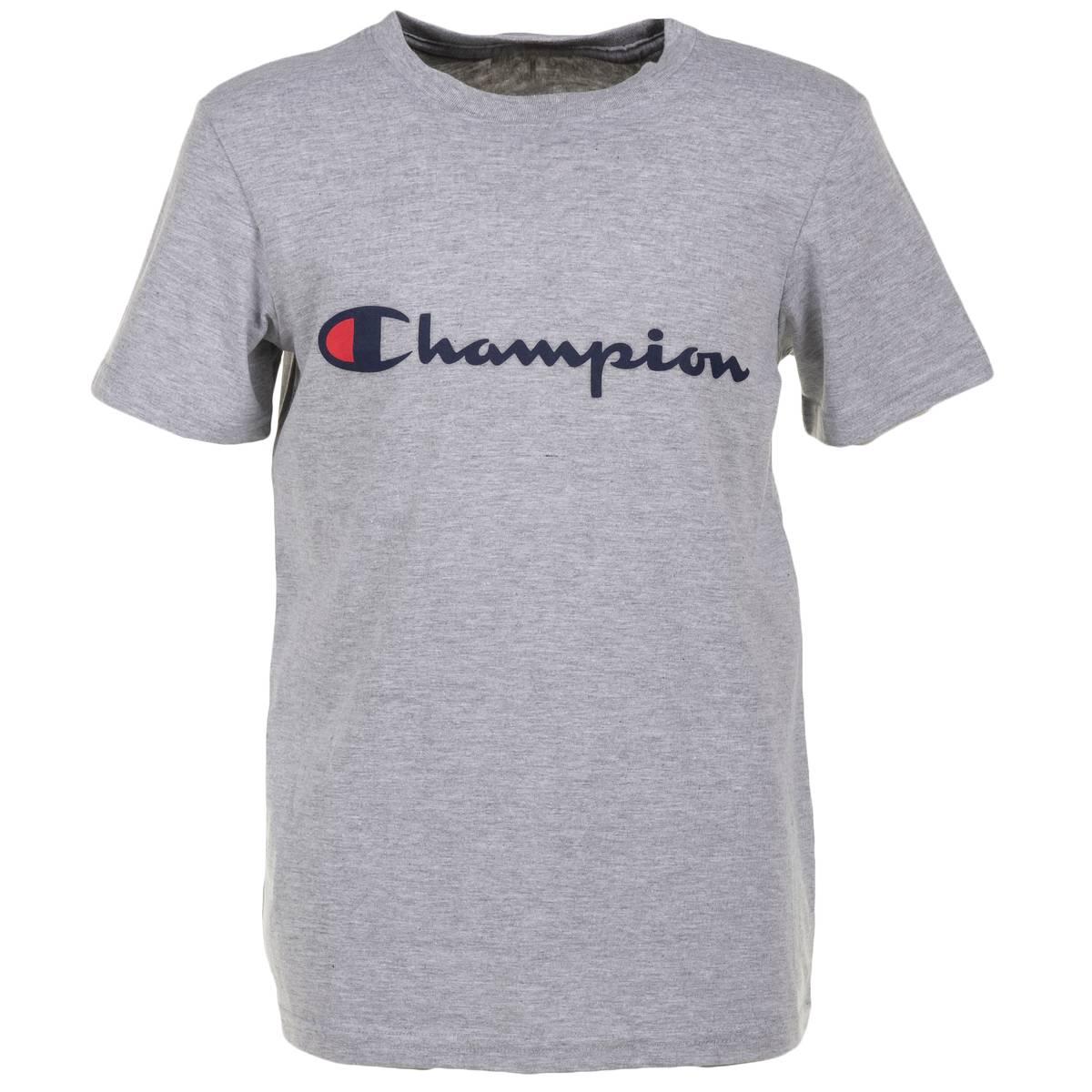 169704b3e BELUGA INC (Champion) Boys' Short Sleeve Logo Tee