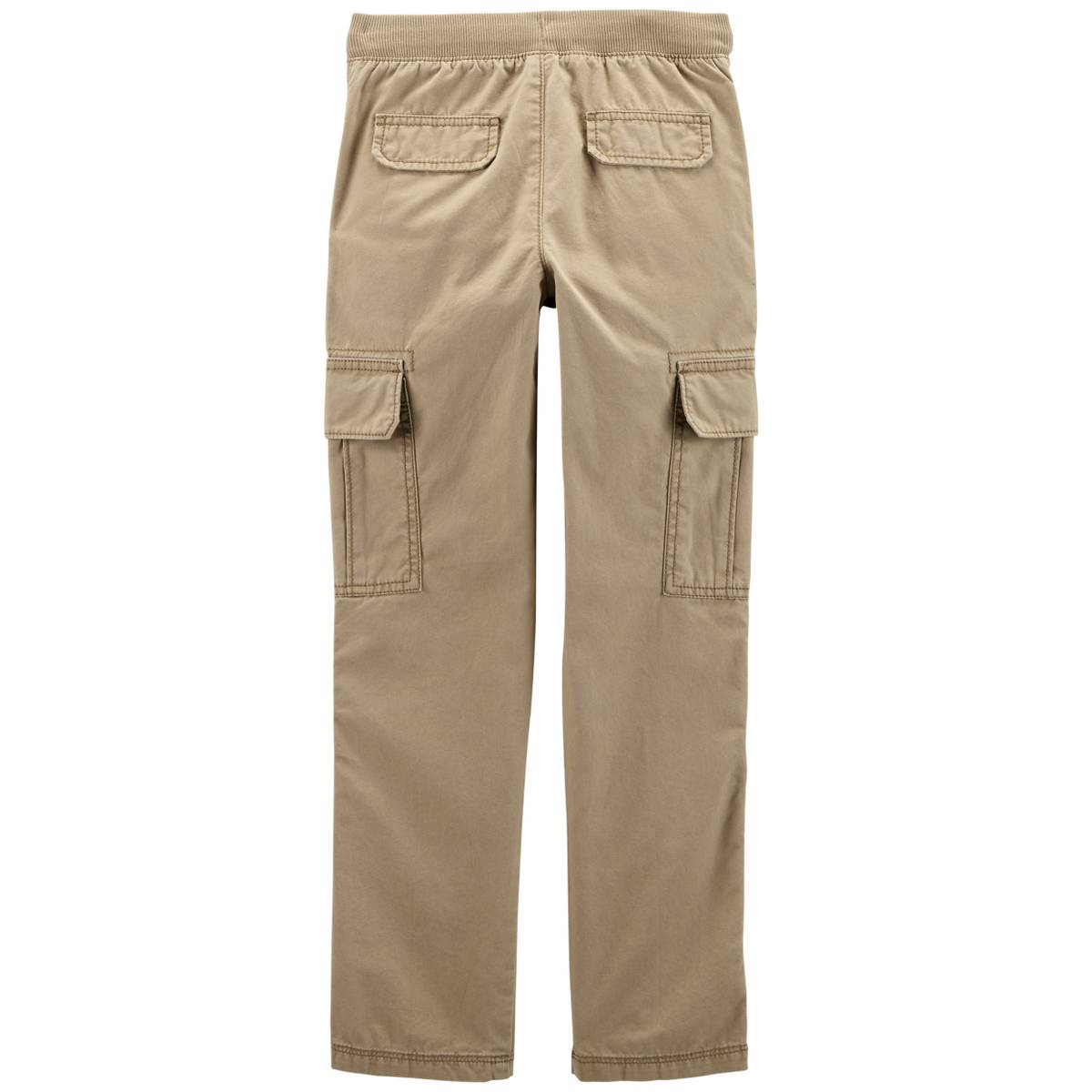 29ce3e602 Carter's Big Boys' Khaki Canvas Pants