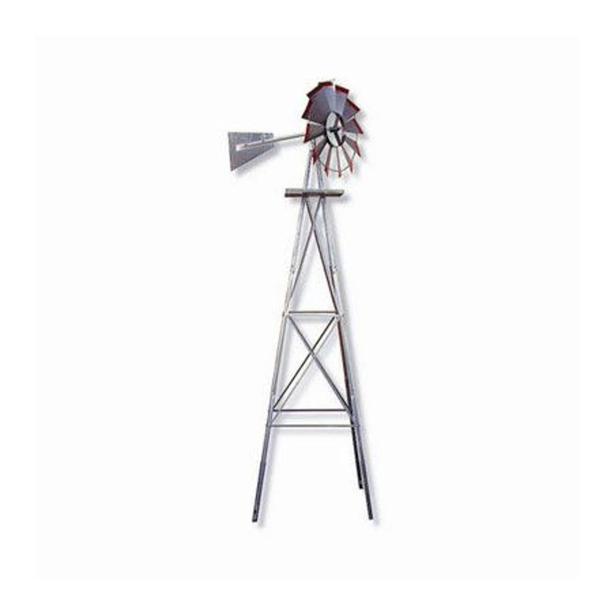 smv industries 8 u0027 american windmill lawn ornament