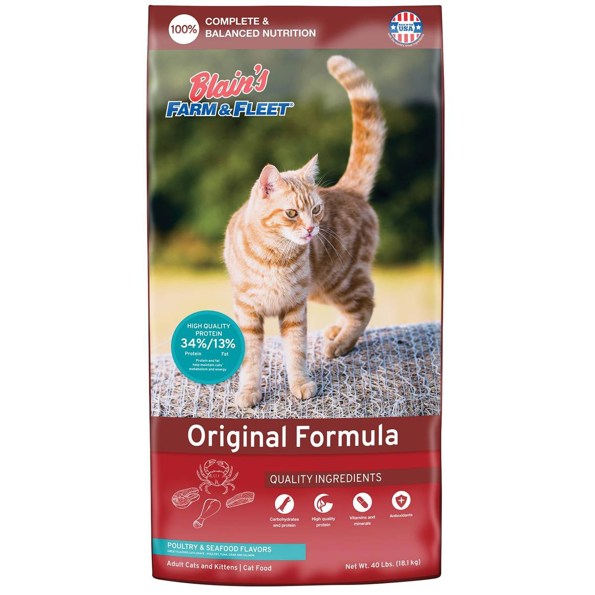 Blain's Farm & Fleet Original Cat Food from Blain's Farm and Fleet
