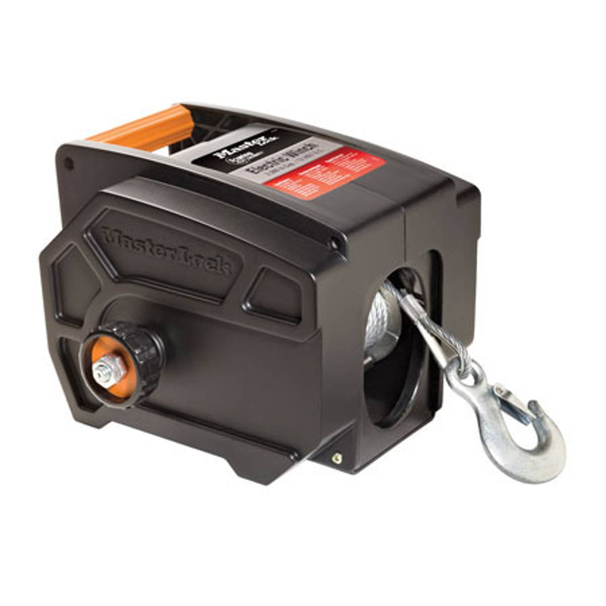 Master Lock Portable Electric Winch
