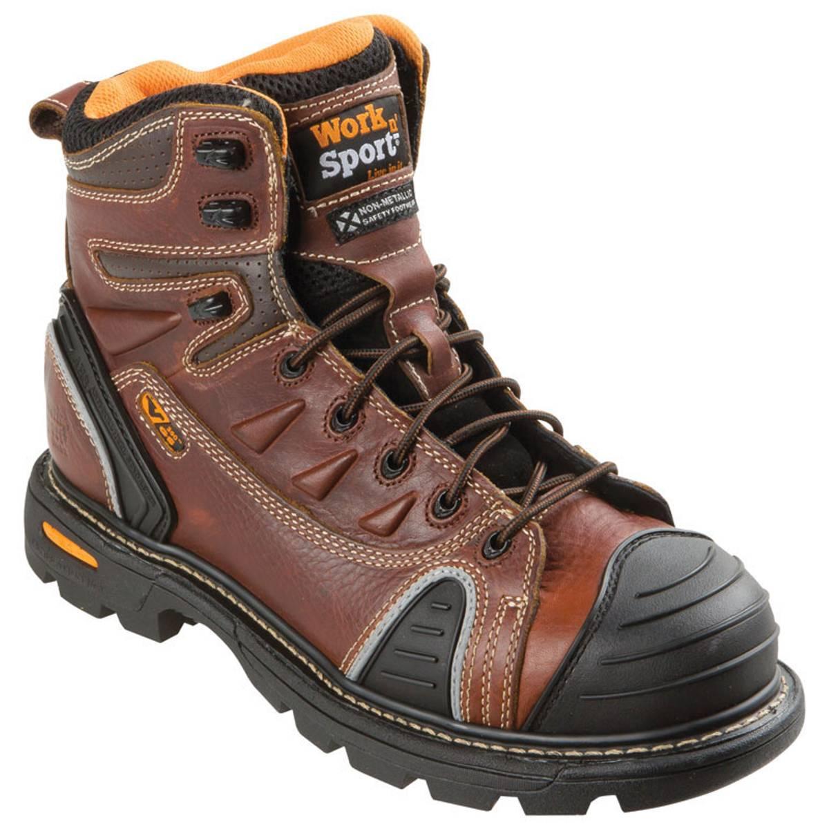 Bathroom scales boots - Work N 39 Sport Men 39 S Brown Gen Flex Ii Steel