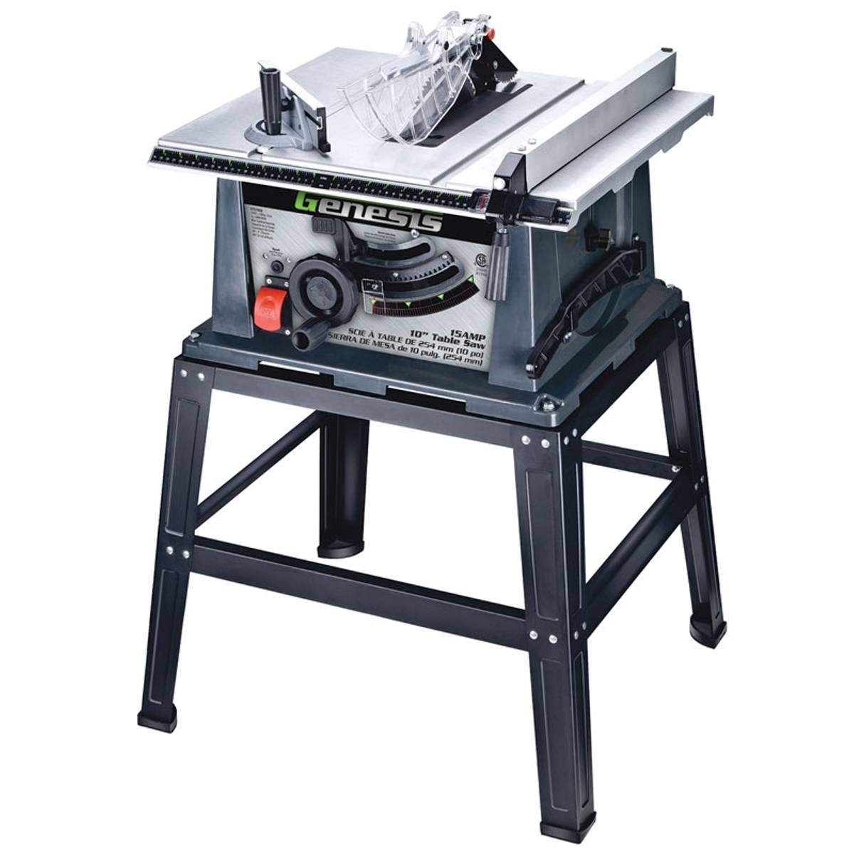 Genesis Table Saw with Stand