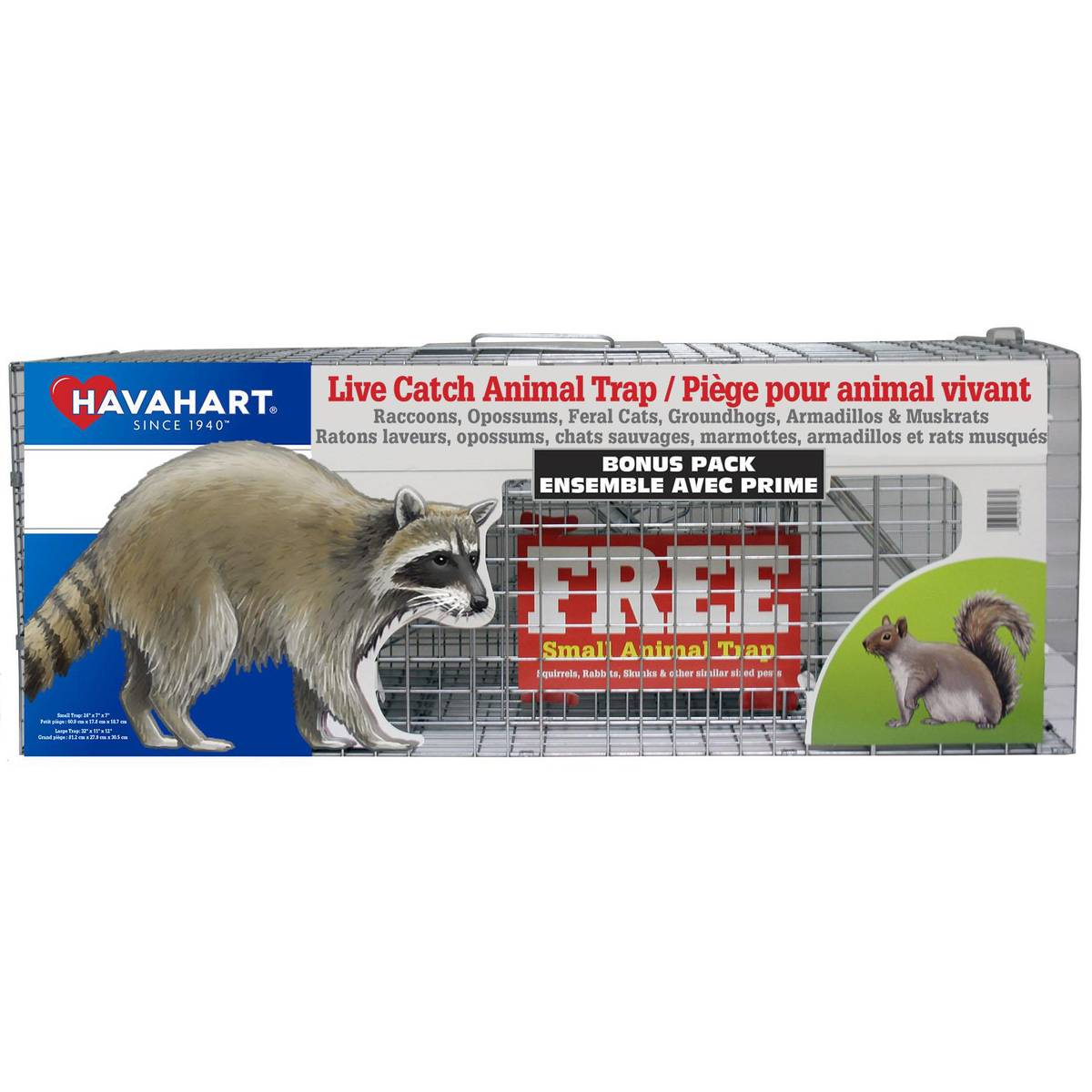 havahart live catch animal trap 2 pack