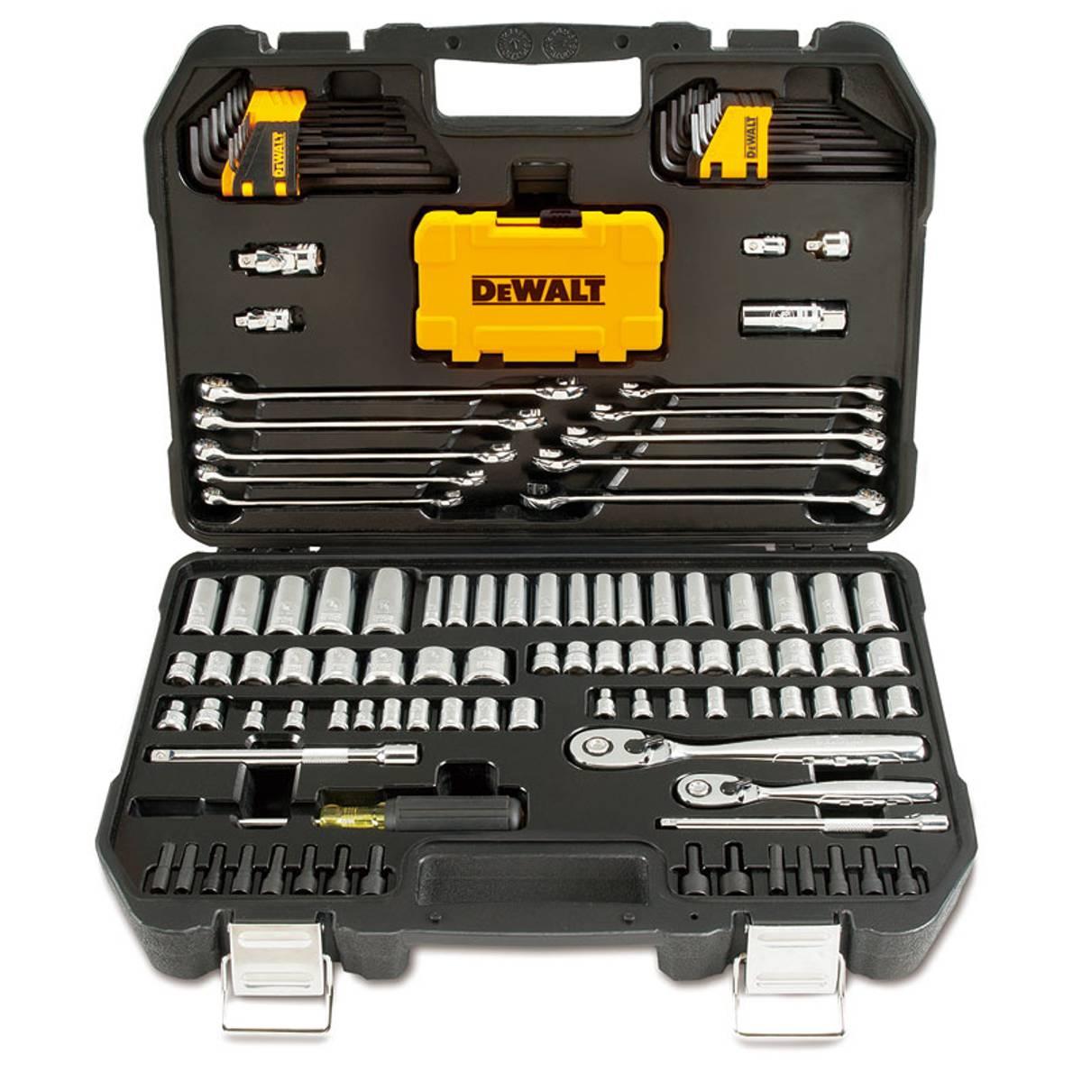 DEWALT 142 Piece Mechanic\'s Tool Set with Case