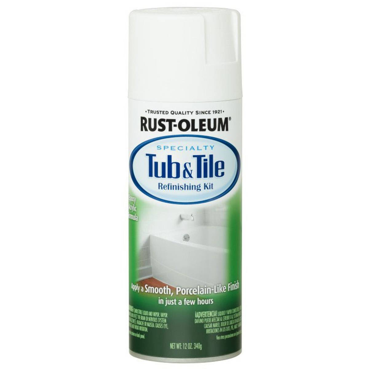 Rust-Oleum Specialty Tub & Tile Refinishing Kit