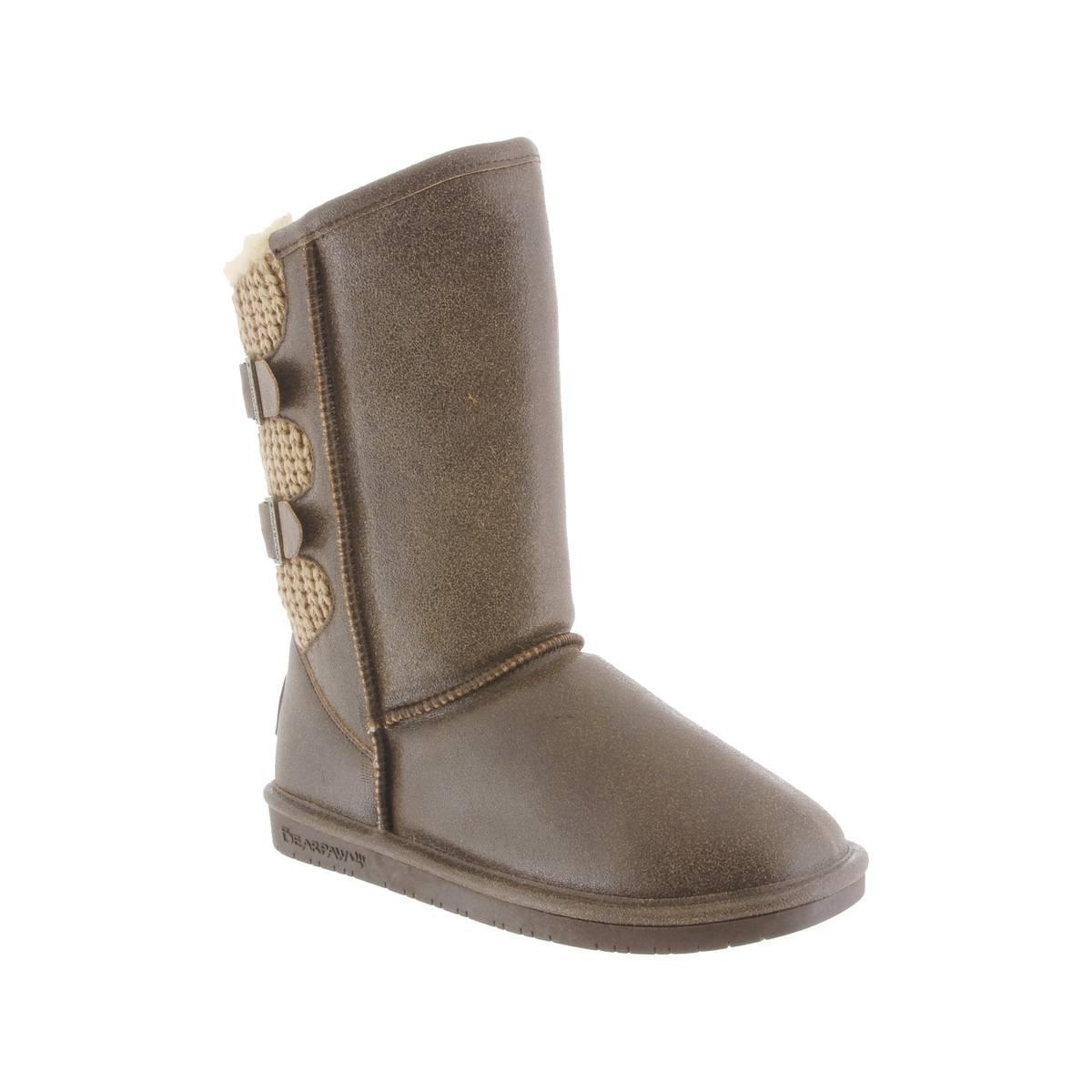 Bearpaw Women\'s & Natural Boshie Boots