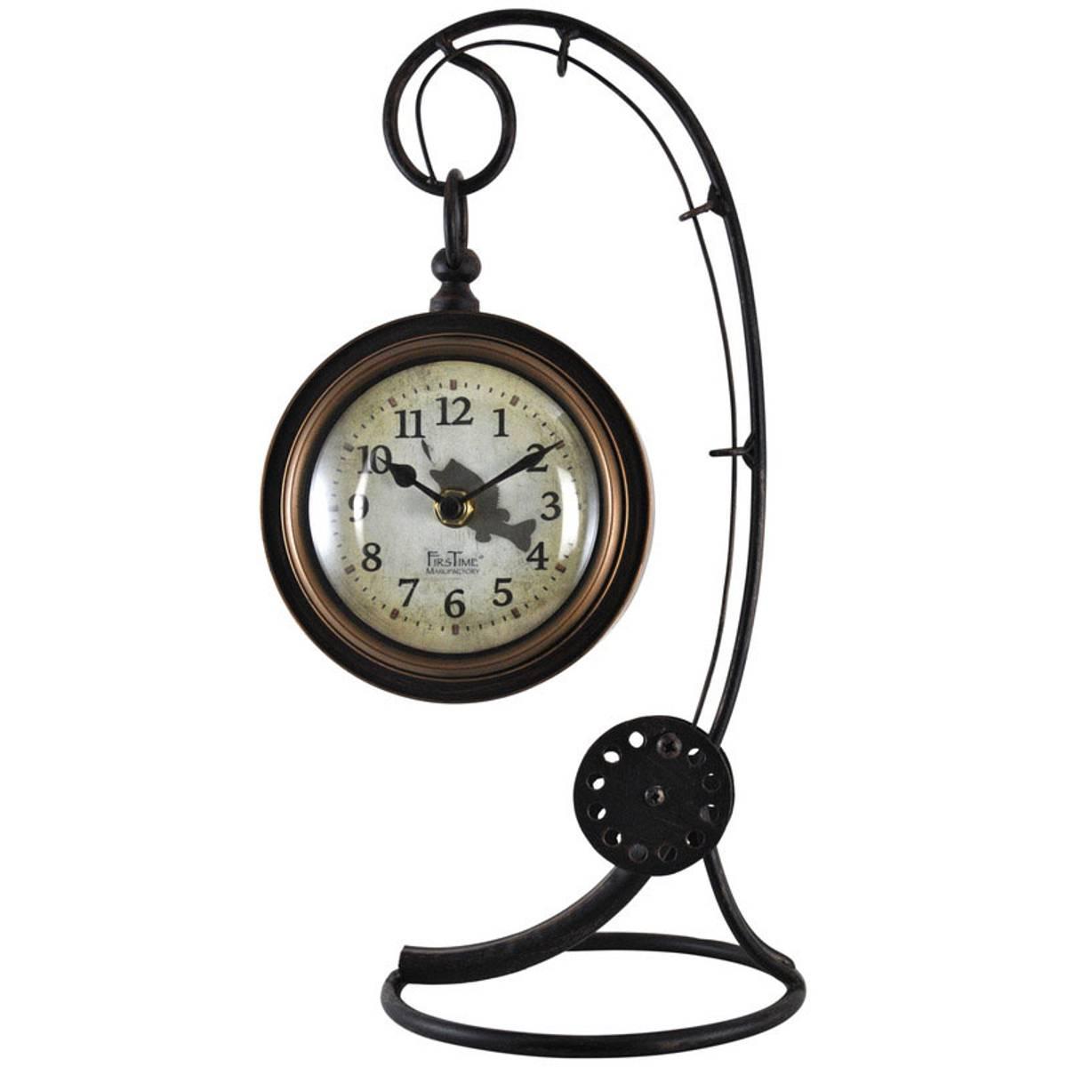 Shop clocks blains farm fleet firstime manufactory fishing rod tabletop clock amipublicfo Images