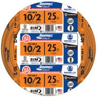 Southwire Romex SIMpull NM-B 10/2 Indoor Wire with Ground from Blain's Farm and Fleet