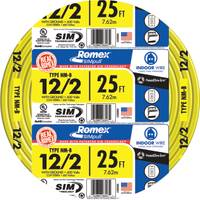 Southwire Romex SIMpull NM-B 12/2 Indoor Wire with Ground from Blain's Farm and Fleet