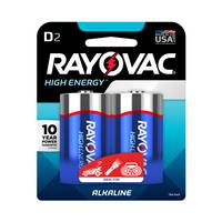 Rayovac D Alkaline Batteries 2-Pack from Blain's Farm and Fleet