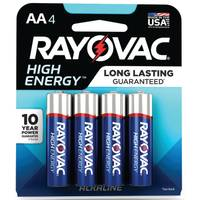 Rayovac AA Alkaline Batteries 4-Pack from Blain's Farm and Fleet