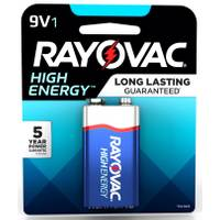 Rayovac 9V Alkaline Battery 1-Pack from Blain's Farm and Fleet