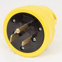 KH Industries Rewireable Flip Seal Straight Blade Plug from Blain's Farm and Fleet