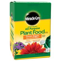 Miracle-Gro Water Soluble All Purpose Plant Food from Blain's Farm and Fleet