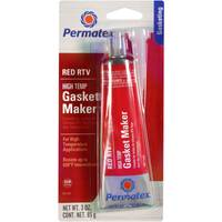 Permatex High - Temp Red RTV Silicone Gasket Maker from Blain's Farm and Fleet