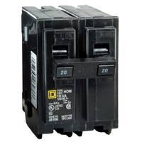 Square D Homeline Full Size Two - Pole Circuit Breaker from Blain's Farm and Fleet