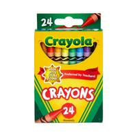 Crayola Nontoxic Crayons - 24 Pack from Blain's Farm and Fleet