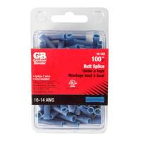GB 16 - 14 Gauge Blue Butt Splices from Blain's Farm and Fleet