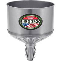 Behrens 8 Quart Lock On Tractor Funnel with Screen from Blain's Farm and Fleet