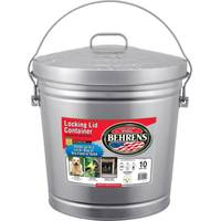 Behrens Galvanized Garbage Pail from Blain's Farm and Fleet