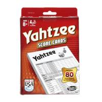 Hasbro Yahtzee 80 Score Cards from Blain's Farm and Fleet