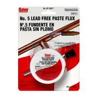 Oatey Number 5 Paste Flux with Brush from Blain's Farm and Fleet