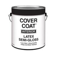 Cover Coat 1 Gallon Interior Latex Semi - Gloss Wall and Trim Paint from Blain's Farm and Fleet