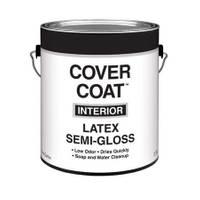 Cover Coat 1 Gallon Interior Latex Semi - Gloss Wall and Trim Paint from Blain's Farm and Fleet