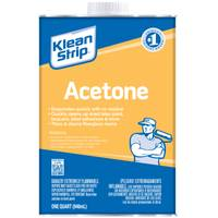 Klean-Strip Acetone 1 Qt from Blain's Farm and Fleet