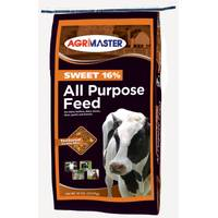Agrimaster 50 lb Sweet 16% All Purpose Horse & Calf Feed from Blain's Farm and Fleet