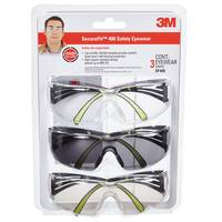 3M Eye Protection Glasses - 3 Pack from Blain's Farm and Fleet