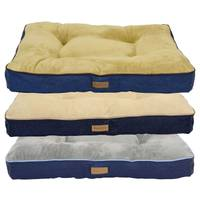 DMC Tufted Good Dog Denim Gusset Bed from Blain's Farm and Fleet