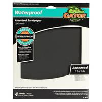 Gator Waterproof Sanding Sheets Assortment from Blain's Farm and Fleet