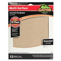 Gator Multipurpose Sanding Sheets Assortment from Blain's Farm and Fleet