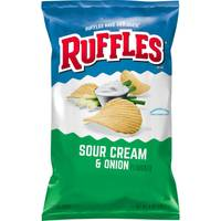 Ruffles Sour Cream & Onion Potato Chips from Blain's Farm and Fleet
