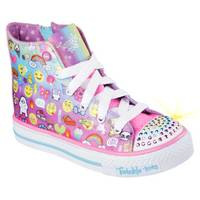 Skechers Girls' Multi-Colored Twinkle Toes: Shuffles - Chat Time Shoes from Blain's Farm and Fleet