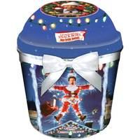 Gourmet Select Christmas Vacation Holiday Gift Tin with Snack Bowl Lid from Blain's Farm and Fleet
