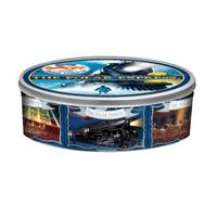 Gourmet Select Polar Express Large Embossed Cookie Tin from Blain's Farm and Fleet