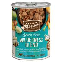 Merrick 13.2 oz Wilderness Blend Classic Recipe Dog Food from Blain's Farm and Fleet