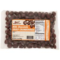 Blain's Farm & Fleet Milk Chocolate Dried Cranberries from Blain's Farm and Fleet