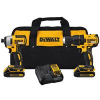 DEWALT 20V MAX Brushless Drill Impact Driver Combo Kit from Blain's Farm and Fleet