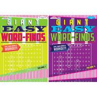 Kappa Giant Easy Word Find Book Assortment from Blain's Farm and Fleet