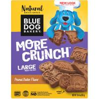 Blue Dog Bakery 20 oz More Crunch Large Dog Peanut Butter Treats from Blain's Farm and Fleet