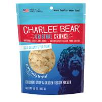 Charlee Bear Chicken Soup & Garden Veggie Dog Treats from Blain's Farm and Fleet