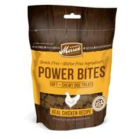 Merrick 6 oz Power Bites Chewy Chicken Dog Treats from Blain's Farm and Fleet