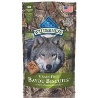 Blue Buffalo Wilderness 8 oz Grain Free Dog Biscuits from Blain's Farm and Fleet