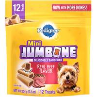 Pedigree Jumbone Mini Dog Snack Food from Blain's Farm and Fleet