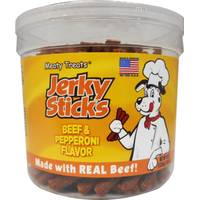 Meaty Treats Beef & Pepperoni Jerky Sticks from Blain's Farm and Fleet