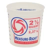 United Solutions 2.5 Quart Measure Right Container No Handle from Blain's Farm and Fleet